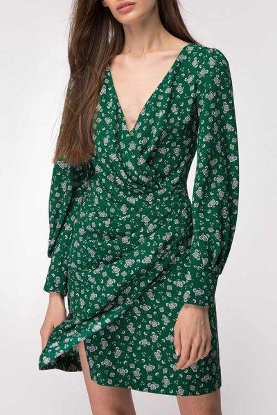 Платье мини на запах SHKO_18054004, фото 1 - в интеренет магазине KAPSULA
