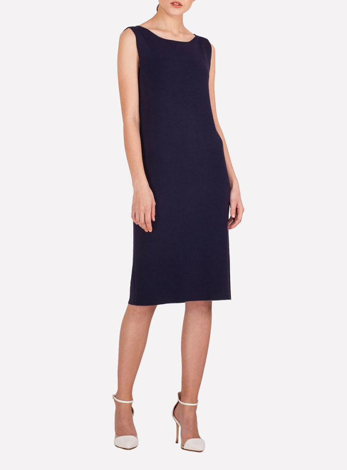 Легкое платье миди JND_19-19-140614_blue, фото 1 - в интернет магазине KAPSULA