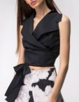 Платье мини на запах SHKO_18054004, фото 5 - в интеренет магазине KAPSULA