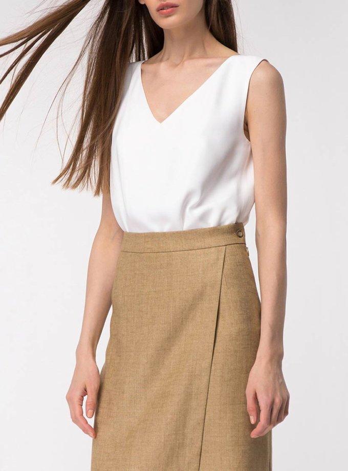 Легкая блуза с разрезами SHKO_19015002, фото 1 - в интернет магазине KAPSULA