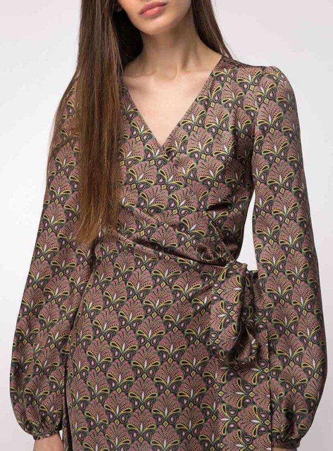 Платье миди на запах SHKO_19021002, фото 1 - в интернет магазине KAPSULA