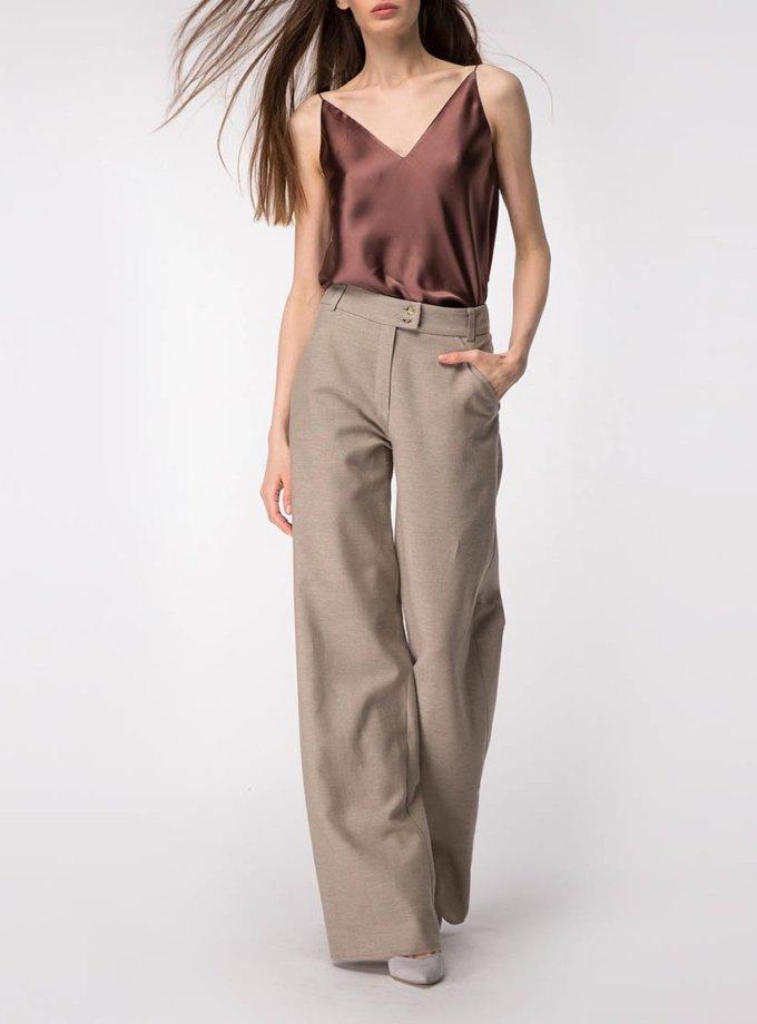Широкие брюки из льна SHKO_18034003, фото 1 - в интернет магазине KAPSULA