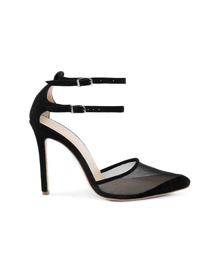 Замшевые туфли Goya Black