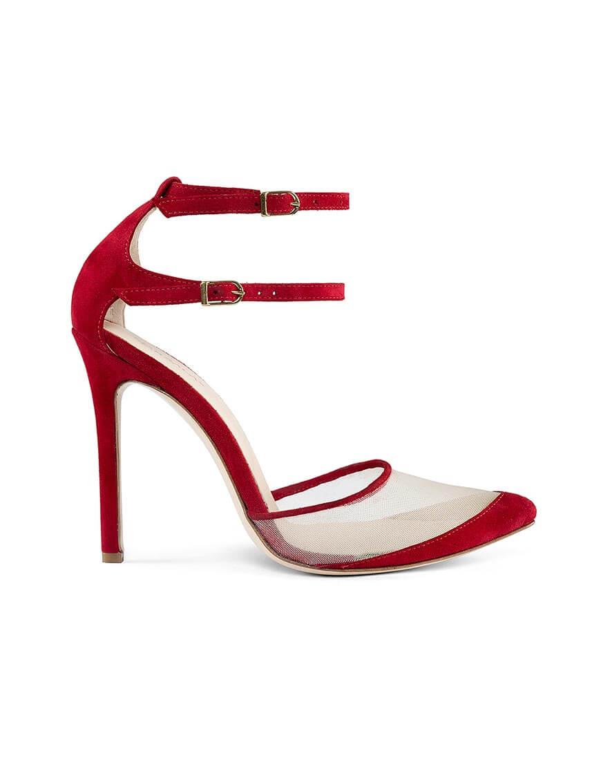 Замшевые туфли Goya Red