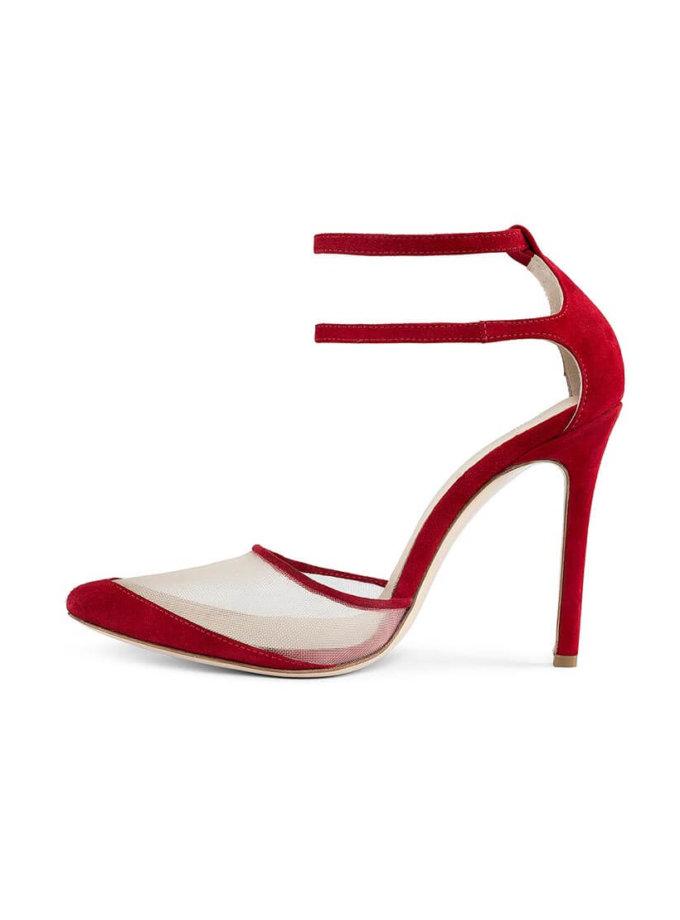 Замшевые туфли Goya Red MRSL_197102, фото 1 - в интернет магазине KAPSULA