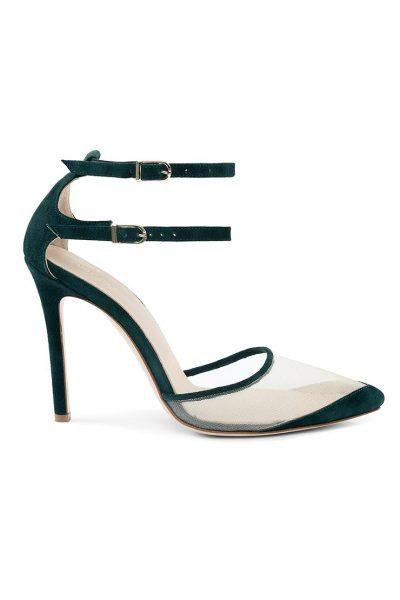 Замшевые туфли Goya Green MRSL_197305, фото 1 - в интеренет магазине KAPSULA