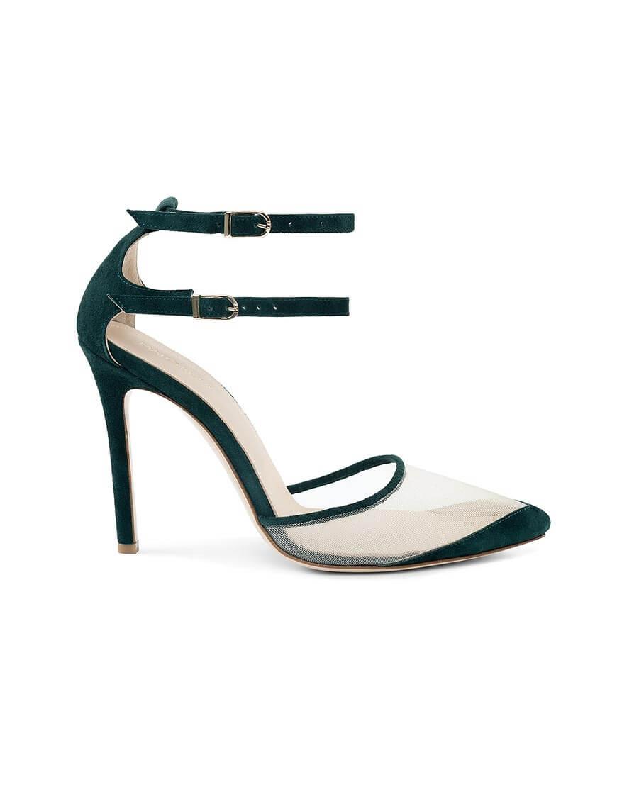 Замшевые туфли Goya Green