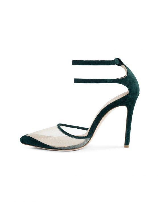 Замшевые туфли Goya Green MRSL_197305, фото 4 - в интеренет магазине KAPSULA