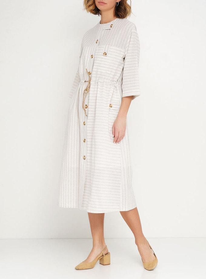 Платье на кулиске из 100% хлопка AY_2615, фото 1 - в интернет магазине KAPSULA