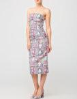 Платье с кружевными вставками NLN_AI3611, фото 4 - в интеренет магазине KAPSULA