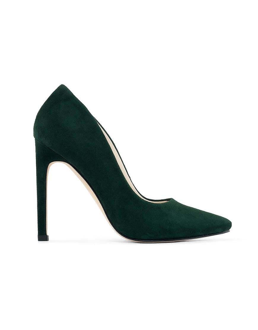 Кожаные туфли Wave Green