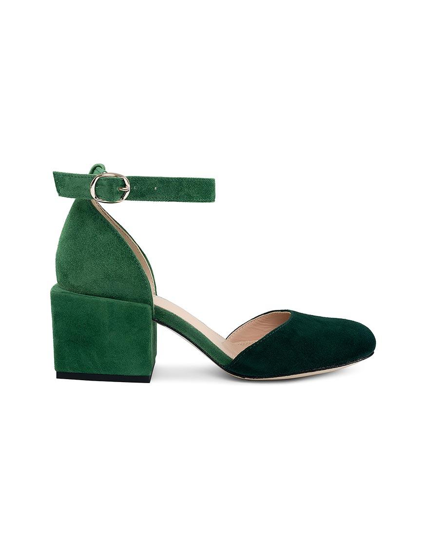 Замшевые туфли Virginia Green