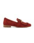 Вельветовые туфли Velvet Зеленый MRSL_717351, фото 4 - в интеренет магазине KAPSULA