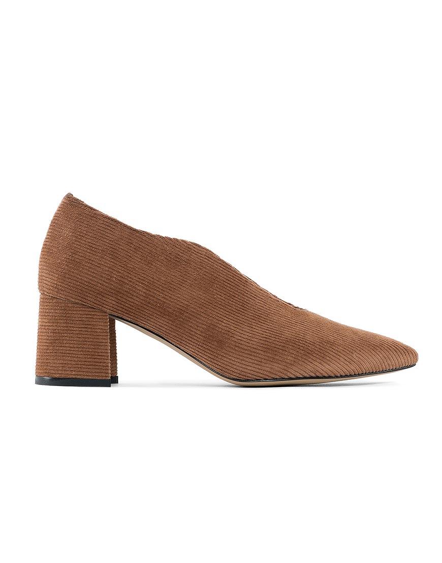 Вельветовые туфли Velvet Какао