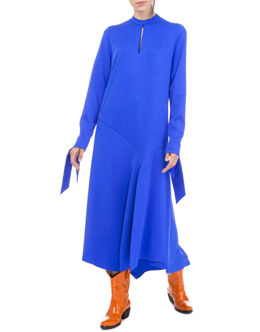 Платье синий элекрик