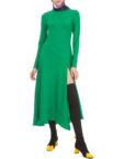 Платье миди расклёшонного кроя VONA_SS-19-45, фото 1 - в интеренет магазине KAPSULA