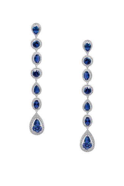 Серебряные серьги Iryna NTKN_CJE2594W-3, фото 1 - в интеренет магазине KAPSULA