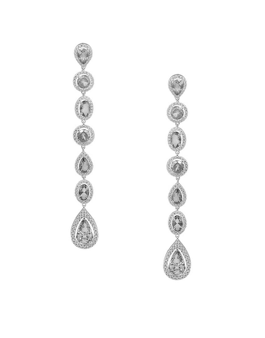 Серебряные серьги Iryna