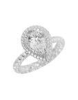 Серебряное кольцо Tsar NTKN_CJR2676W-3, фото 7 - в интеренет магазине KAPSULA