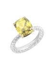 Серебряное кольцо Tsar NTKN_CJR2676W-4, фото 7 - в интеренет магазине KAPSULA