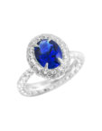 Серебряное кольцо Princess Liana NTKN_CJR2574W, фото 3 - в интеренет магазине KAPSULA