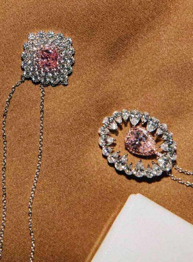 Серебряная подвеска Sunflower NTKN_JN1583W-4, фото 1 - в интернет магазине KAPSULA