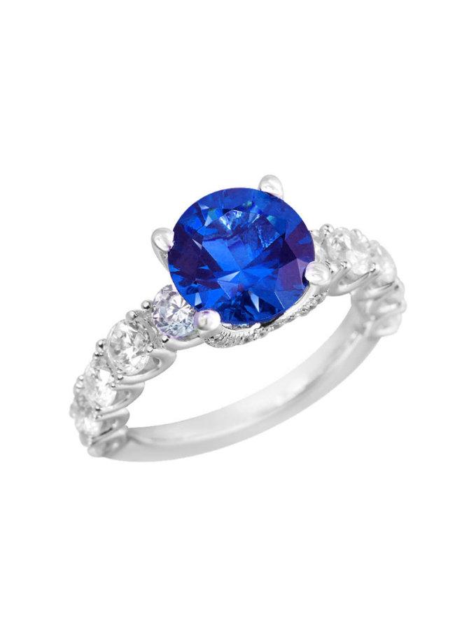 Серебряное кольцо Donna NTKN_JR1812W-2, фото 1 - в интернет магазине KAPSULA