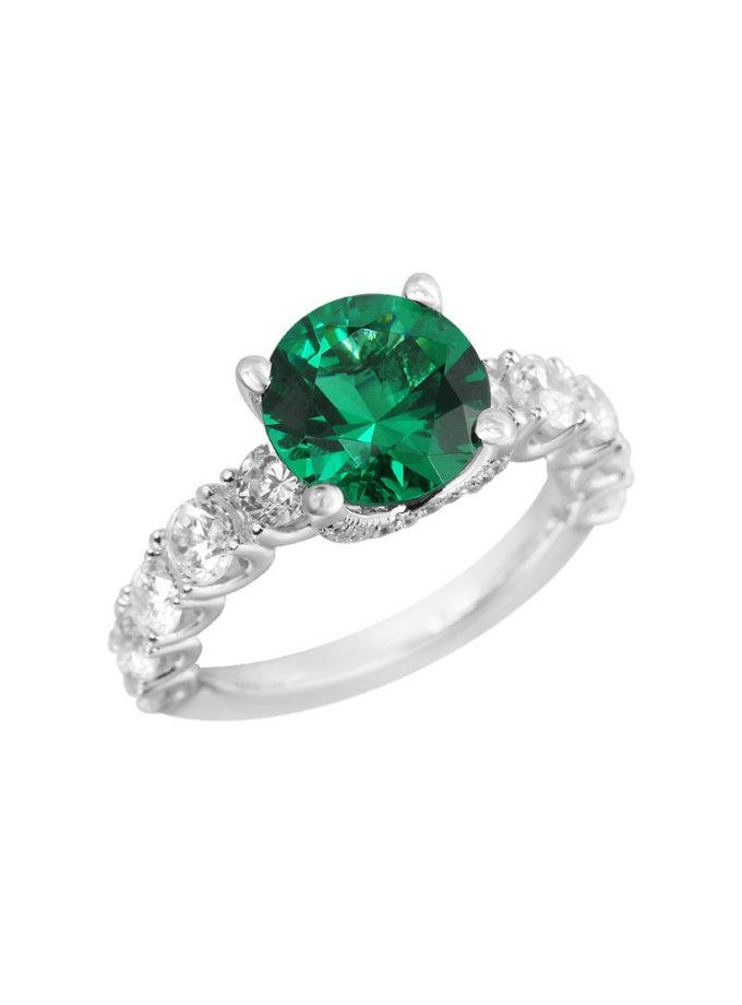Серебряное кольцо Donna NTKN_JR1812W-4, фото 1 - в интеренет магазине KAPSULA