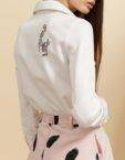 Легкая блуза на запах INS_SS19_02, фото 4 - в интеренет магазине KAPSULA
