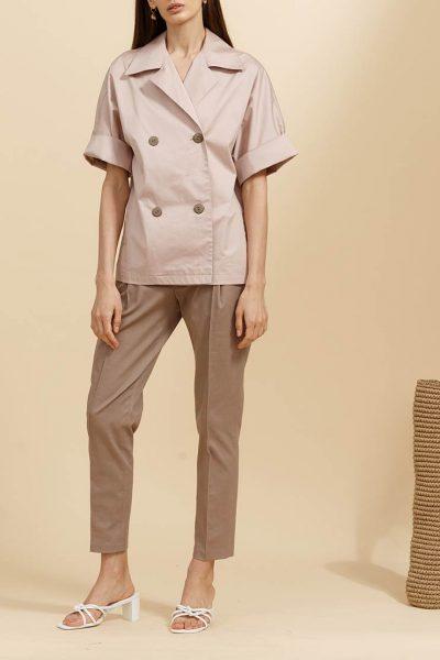 Зауженные брюки со стрелками INS_SS19_08_02, фото 2 - в интеренет магазине KAPSULA