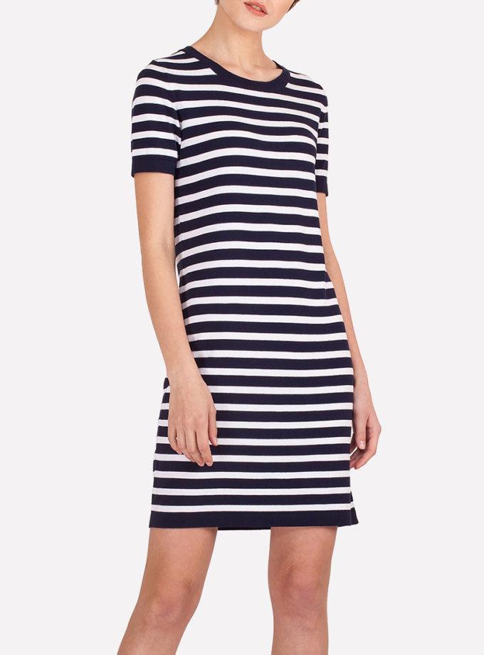 легкое платье мини в полоску JND_19-140612, фото 1 - в интернет магазине KAPSULA