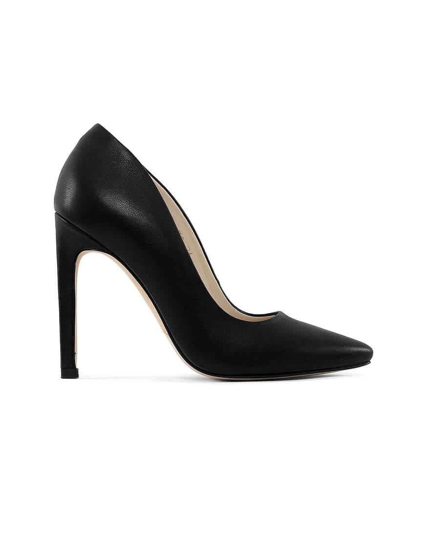 Кожаные туфли Wave black