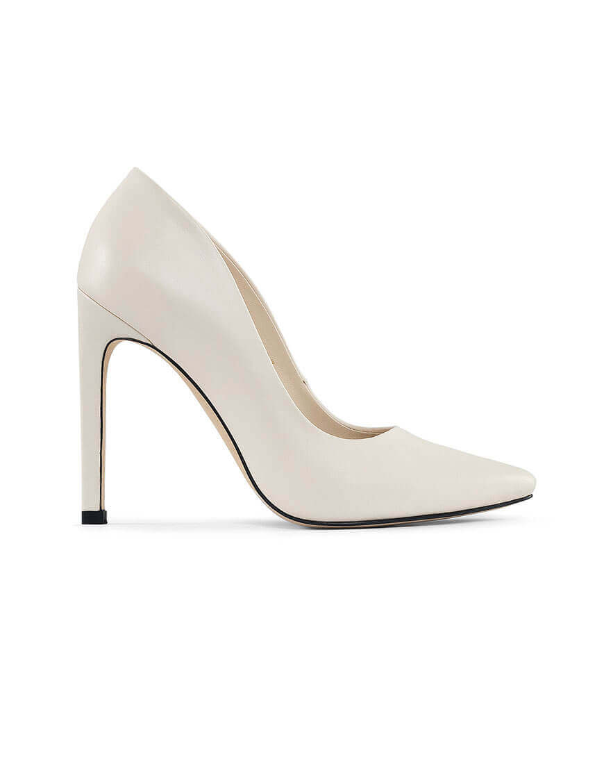 Кожаные туфли Wave milky
