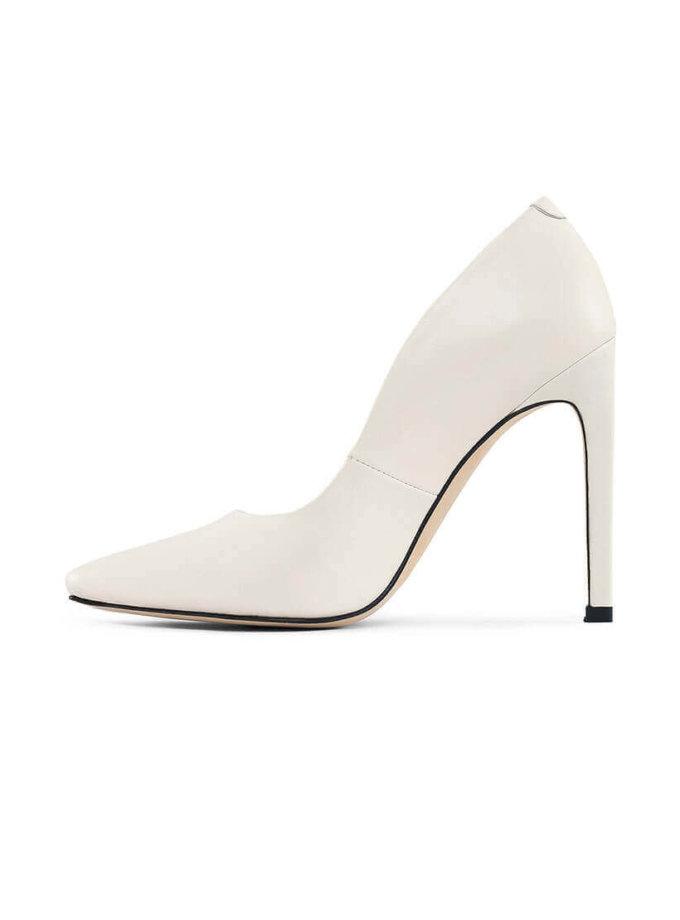 Кожаные туфли Wave milky MRSL_431082, фото 1 - в интеренет магазине KAPSULA