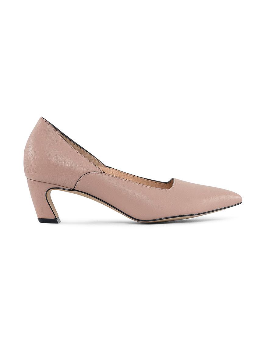 Кожаные туфли Dali beige