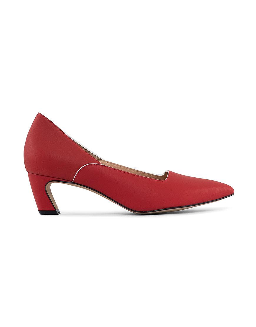 Кожаные туфли Dali red