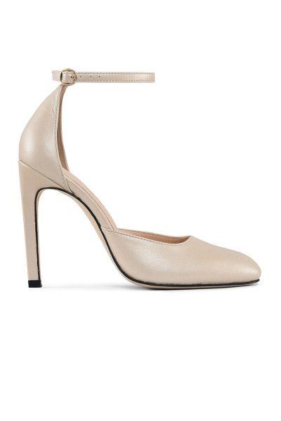 Кожаные туфли Mary Jane Gold MRSL_993457, фото 3 - в интеренет магазине KAPSULA