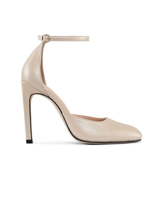 Кожаные туфли Mary Jane Gold MRSL_993457, фото 4 - в интеренет магазине KAPSULA