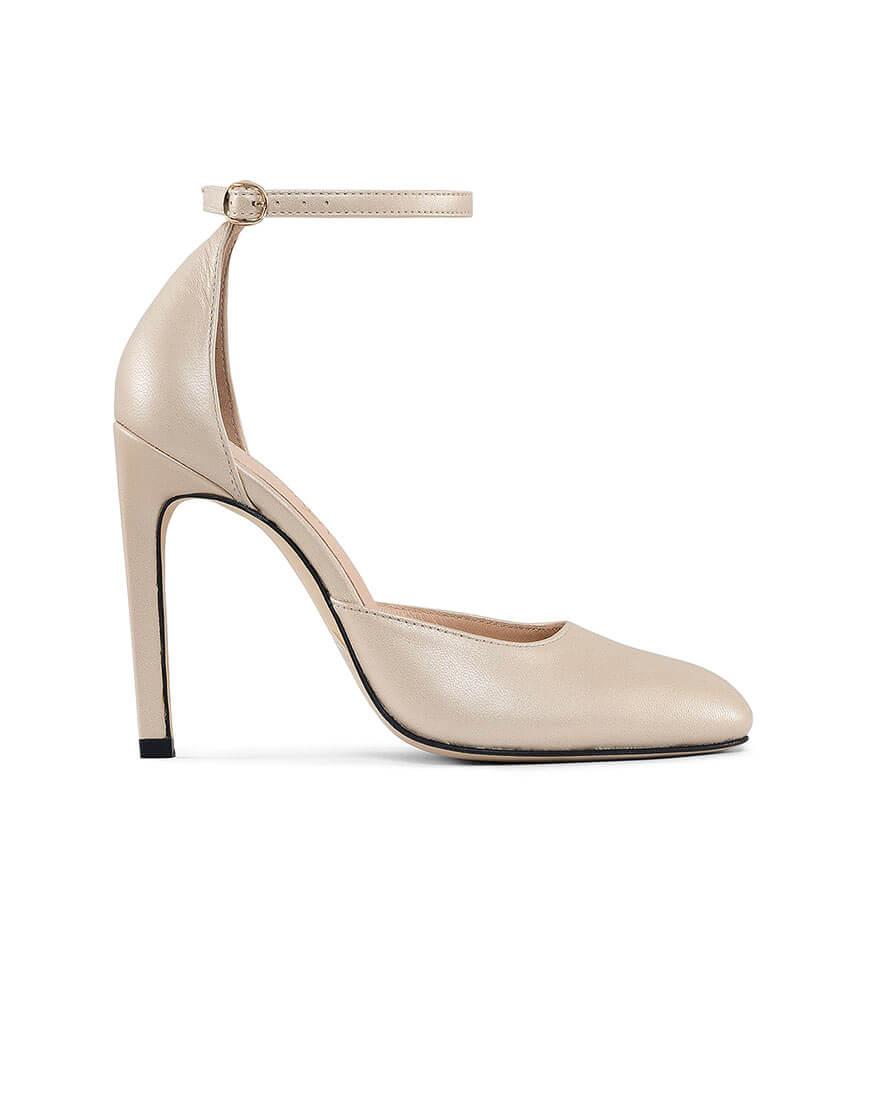 Кожаные туфли Mary Jane Gold