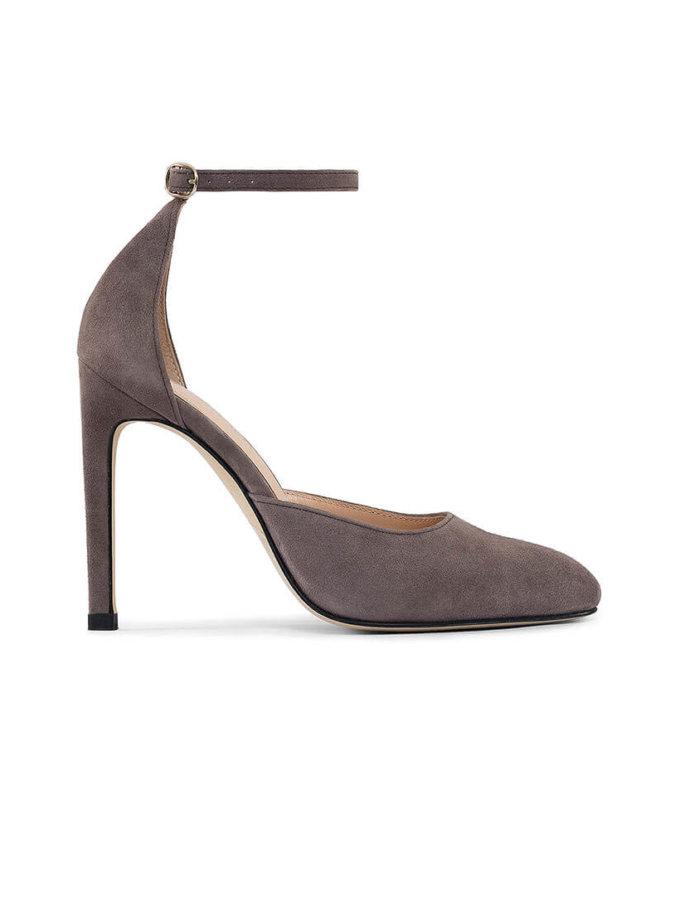 Кожаные туфли Mary Jane brown MRSL_993467, фото 1 - в интеренет магазине KAPSULA