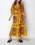 Платье мини с широкими рукавами FOBERI_ss19067, фото 2 - в интеренет магазине KAPSULA