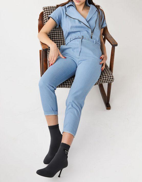 джинсовый комбинезон трансформер XM_xm_denim1, фото 7 - в интеренет магазине KAPSULA