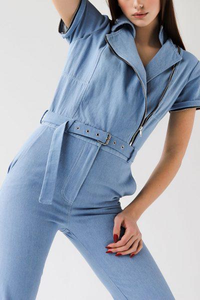 джинсовый комбинезон трансформер XM_xm_denim1, фото 1 - в интеренет магазине KAPSULA