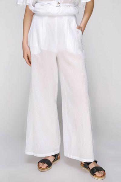 Полупрозрачные брюки на высокой талии AY_2660, фото 1 - в интеренет магазине KAPSULA