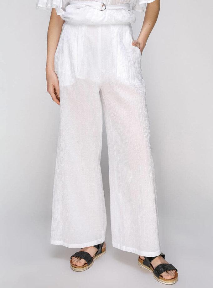 Полупрозрачные брюки на высокой талии AY_2660, фото 1 - в интернет магазине KAPSULA