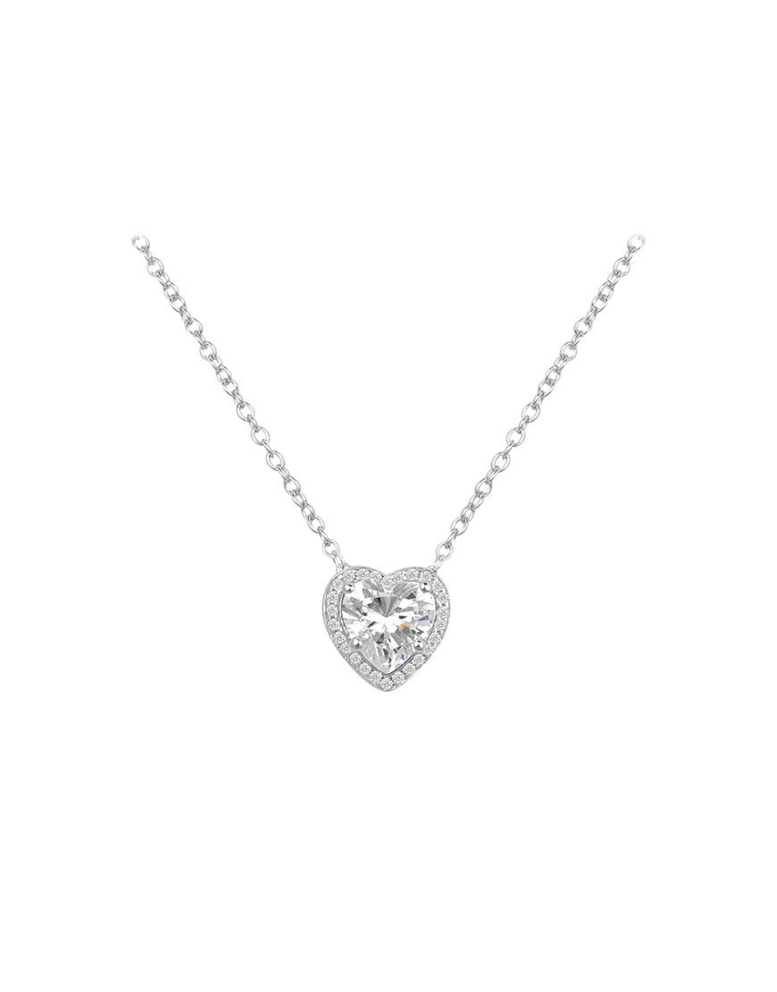 Серебряная подвеска c цирконием Special Heart