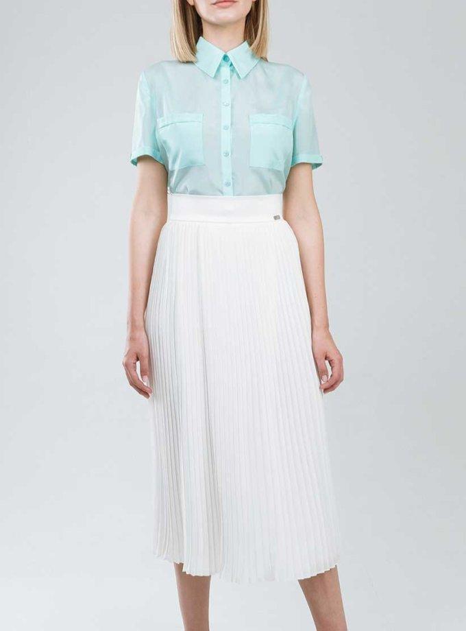 Рубашка прямого кроя с накладными карманами SOL_SSS2019SH07_outlet, фото 1 - в интернет магазине KAPSULA