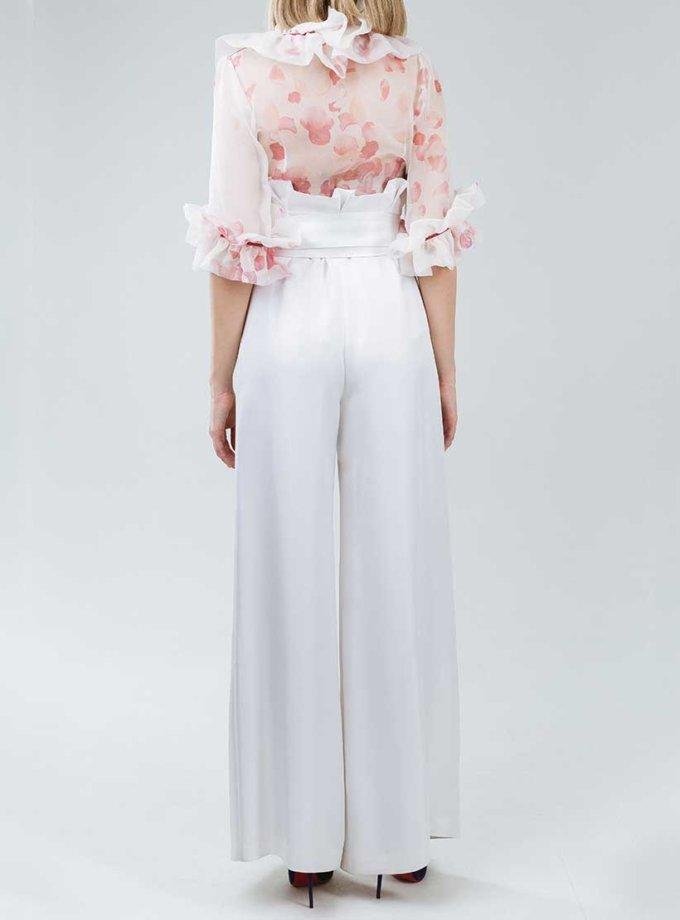 Широкие брюки со складкой SOL_SSS2019T07, фото 1 - в интернет магазине KAPSULA