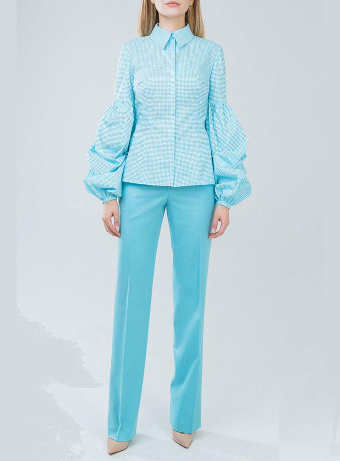 Прямые брюки на средней посадке SOL_SSS2019T09, фото 1 - в интернет магазине KAPSULA