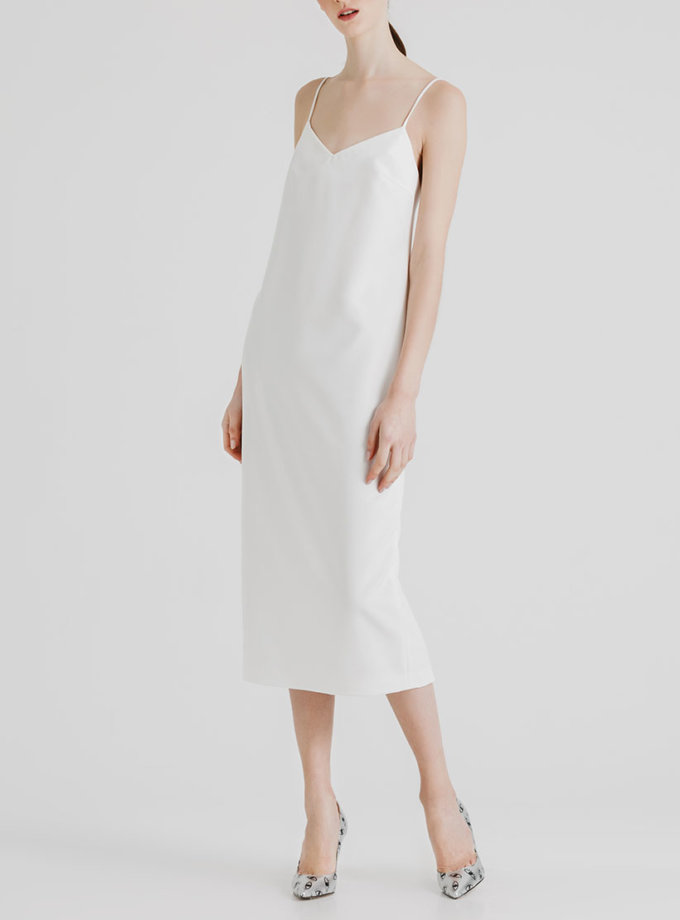 Платье миди с открытой спиной MGN_1715B, фото 1 - в интернет магазине KAPSULA